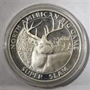 NORTH AMERICAN HUNTING CLUB Silver Coin BIG GAME SUPER SLAM SILVER COIN